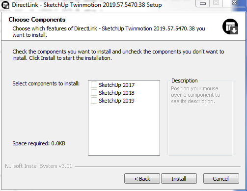 Twinmotion not detecting Sketchup Pro 2018